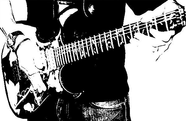 ギターを持った男性その3