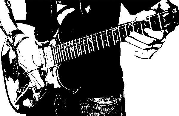 ギターを持った男性その5