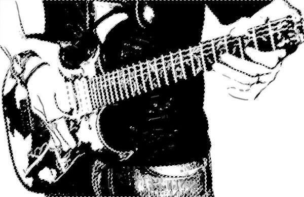 ギターを持った男性その7