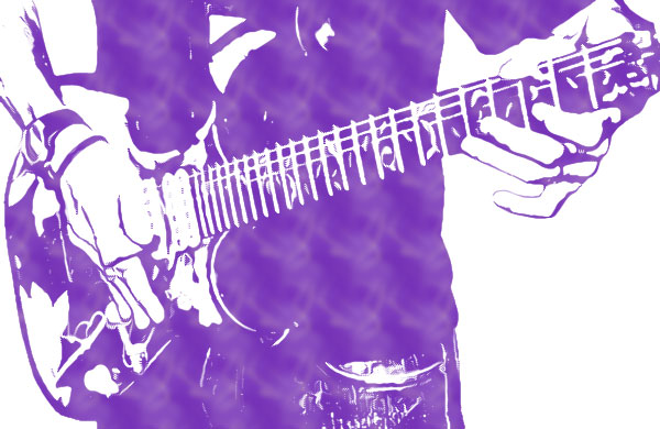 ギターを持った男性その11