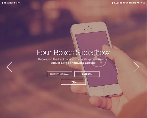 Four Boxes Slideshow