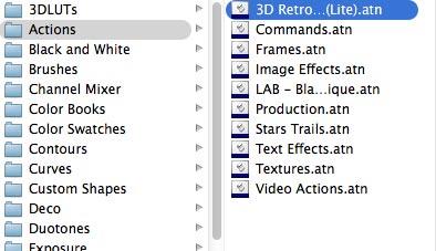 3D Retro Text Creator by SparkleStock (Lite).atn
